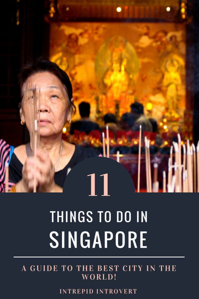What to do in SIngapore? I got you covered! Here's my top favourite things to do in Singapore; my favourite city!