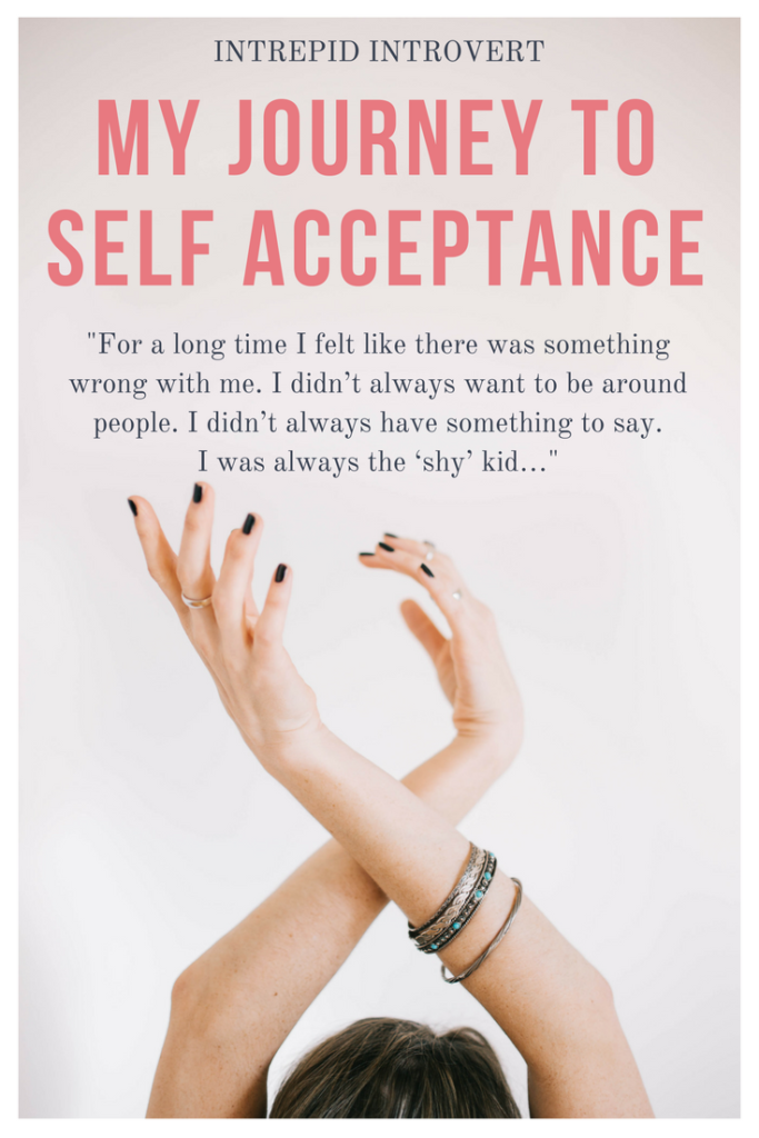 Here's how I finally learned to accept myself as an introvert. I recommend this one thing for my fellow introverts too!