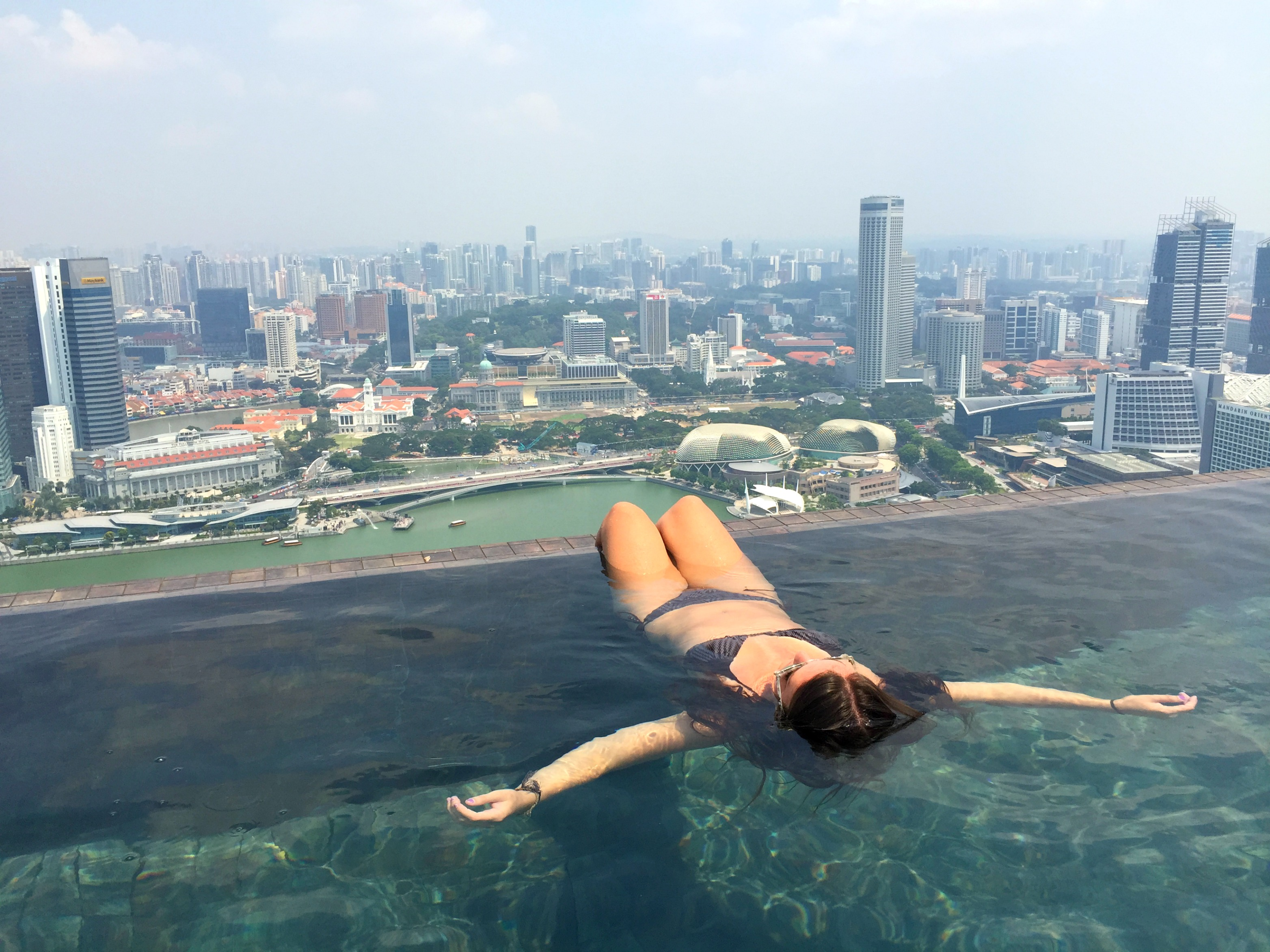 Marina bay sands infinity pool singapore - Marina Bay Sands Hotel Review Luxury Travel Intrepid