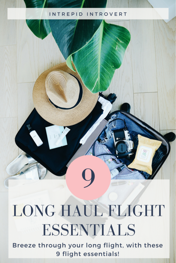 Fly through your long haul flight with these 9 essential things! Trust me, some of these are a life saver!