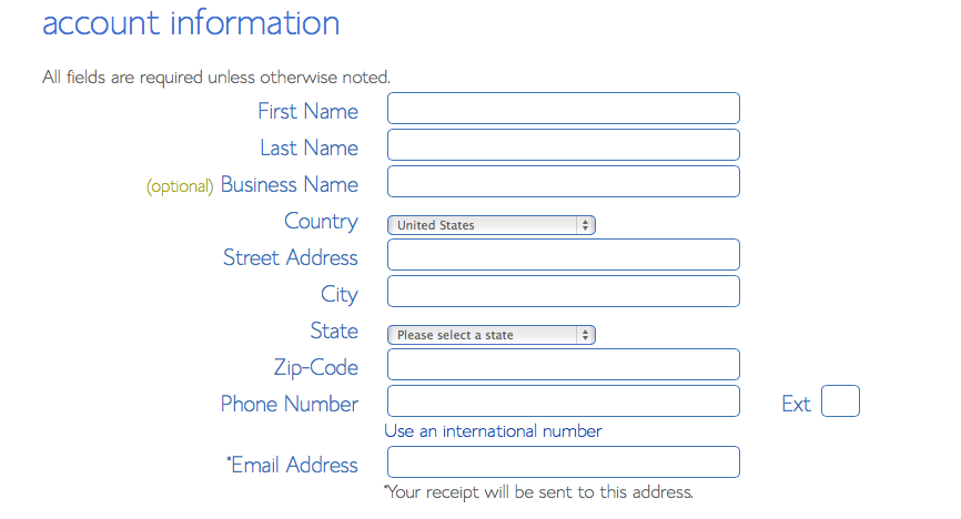 Bluehost Contact Info
