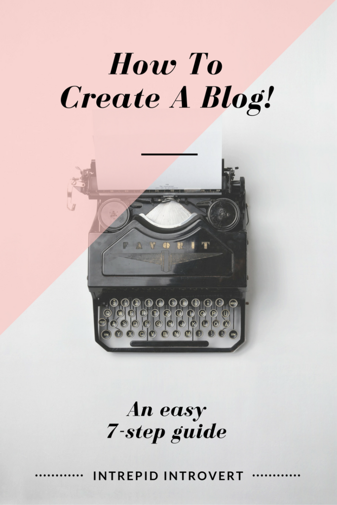 How to create a blog: An easy 7-step guide! It doesn't need to be complex nor expensive. Creating my own blog was the best decision I've ever made and it can be yours too!