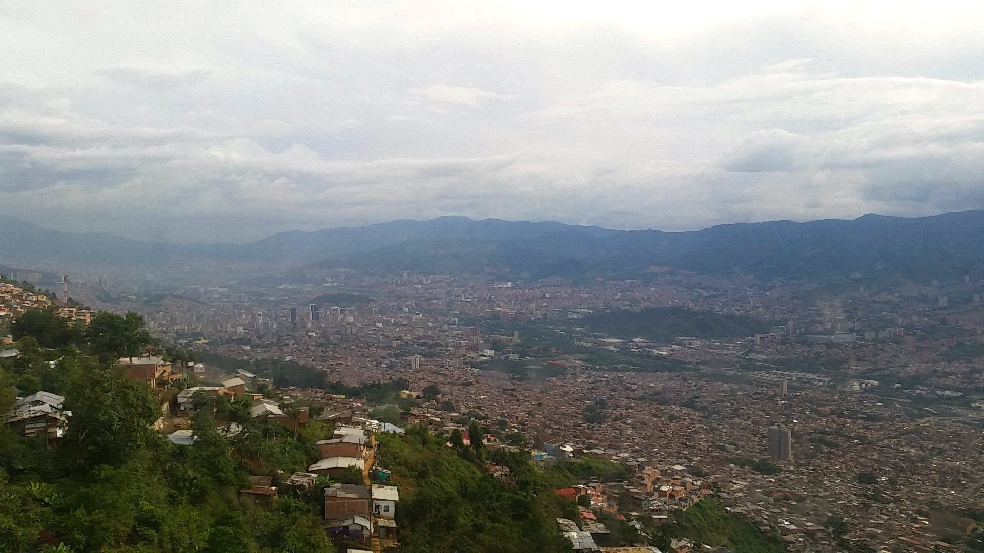 Living in Medellin City