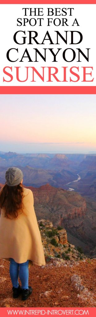 Heading to the Grand Canyon for sunrise? Here is the best Grand Canyon sunrise point... In my own opinion haha