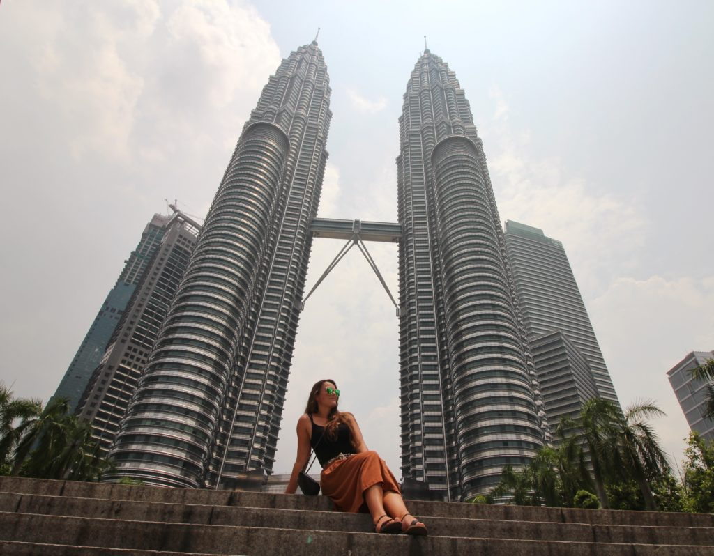 The best of Kuala Lumpur City Tour with the 'Withlocals' app. Here are the famous Petronas twin towers! A must see when in KL- read the rest of my post here!