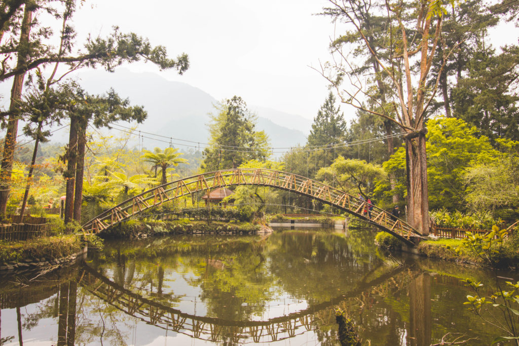 Sun Moon Lake Travel Guide: How long to go for? Where to stay? What to do!? Check out this Sun Moon Lake Travel Guide to help you plan your trip here. This is the picturesque bridge in Xitou National Forest- definitely worth a visit while in Sun Moon Lake :)