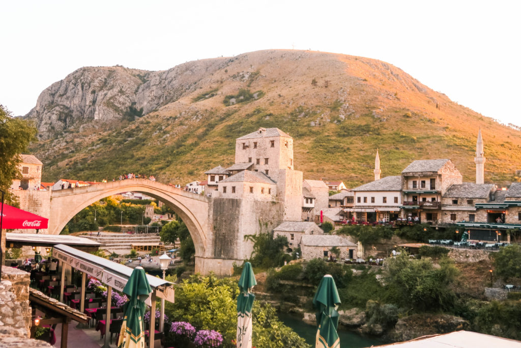 Stari Most bridge mostar bosnia