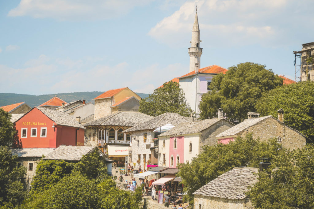Mostar Old Town Bosnia