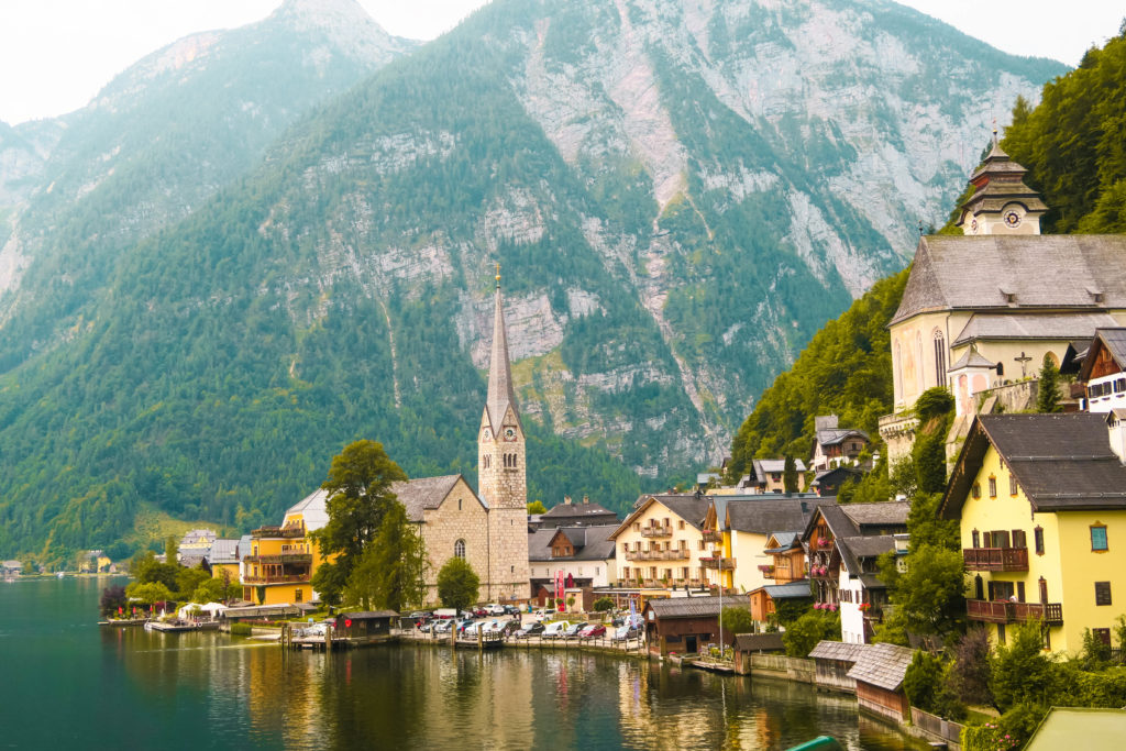 How to get to hallstatt