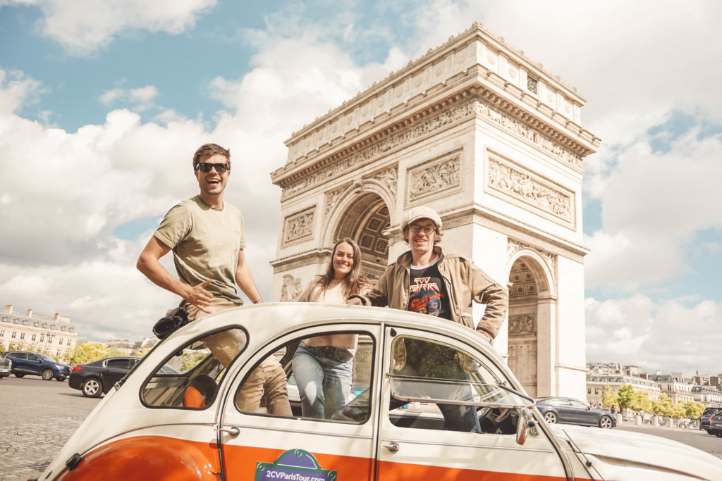 Paris 2 CV Tour! 3 Nights in Paris - France Road Trip Itinerary