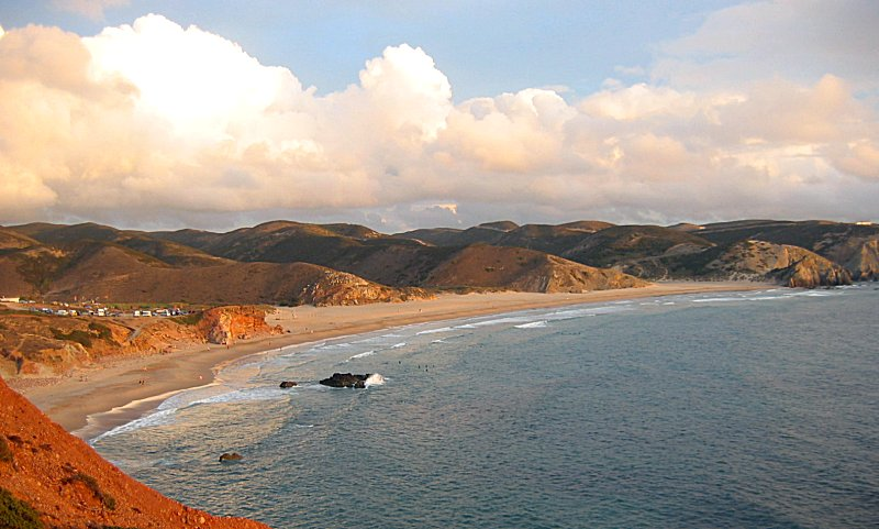 Portugal Road Trip Itinerary: Amado Beach, Portugal