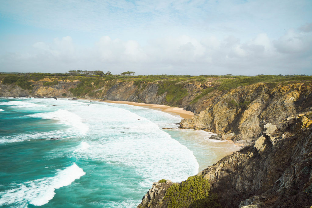 Portugal Road Trip Itinerary : Secret Beach, Portugal