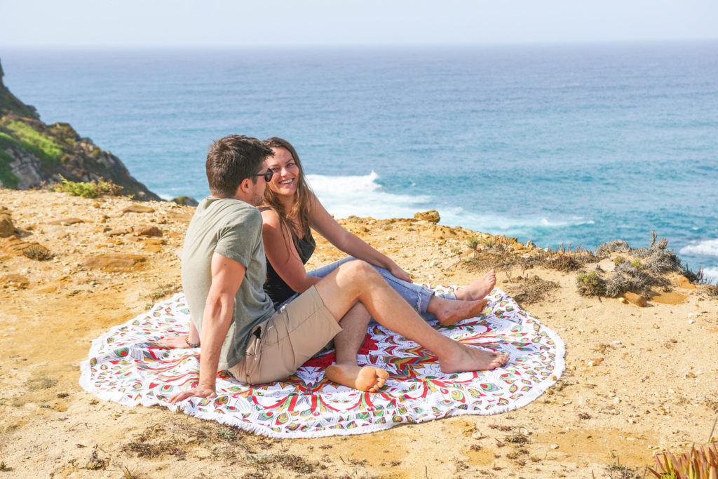 Portugal Road Trip Itinerary : A picnic at a secret beach, Portugal